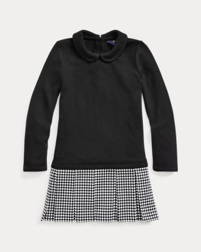 Ponte-Skirt Interlock Dress
