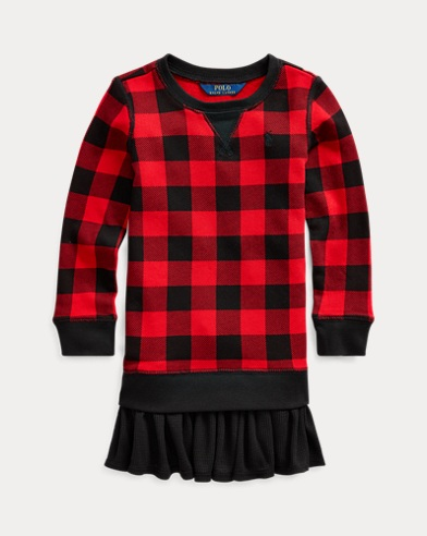 Cotton Terry Sweatshirt Dress