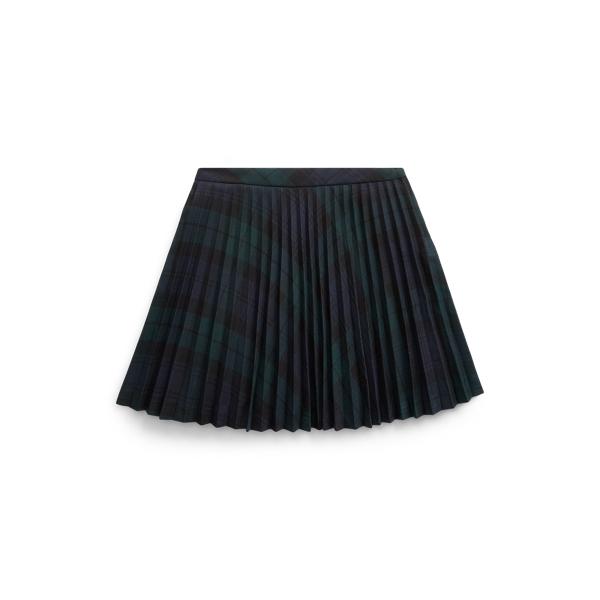 폴로 랄프로렌 여아용 블랙왓치 스커트 Polo Ralph Lauren Tartan Plaid Pleated Skirt,Blackwatch Tartan