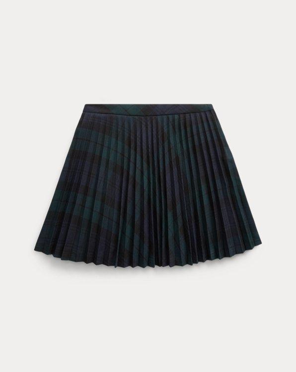 Tartan Plaid Pleated Skirt