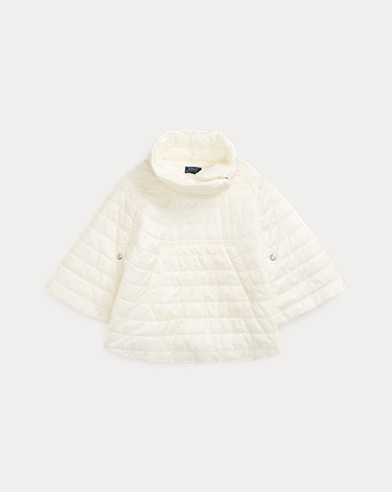 Quilted Poncho Cape