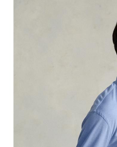 Camicia Oxford in maglia