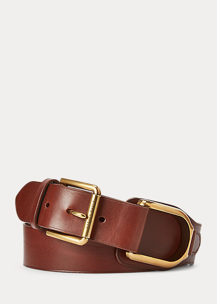 Polo Ralph Lauren Stirrup Leather Belt