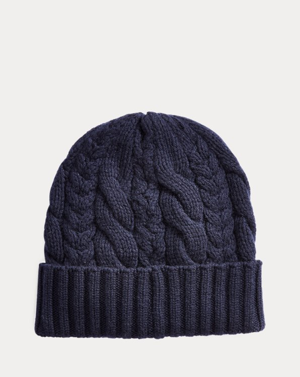 Cable-Knit Cashmere Hat