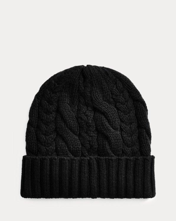 Cable-Knit Cashmere Hat