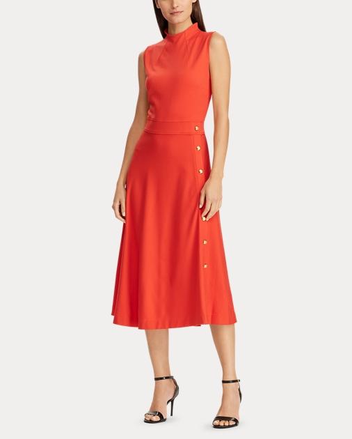 Ponte Trim Button Dress Dress Button Ponte Button Dress Trim Trim Ponte 7yYgvIm6bf