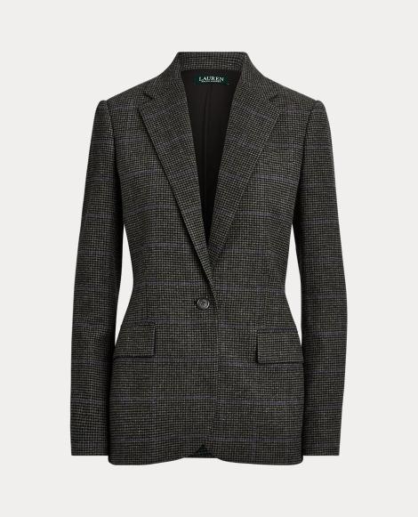 Wool-Blend Suit Jacket