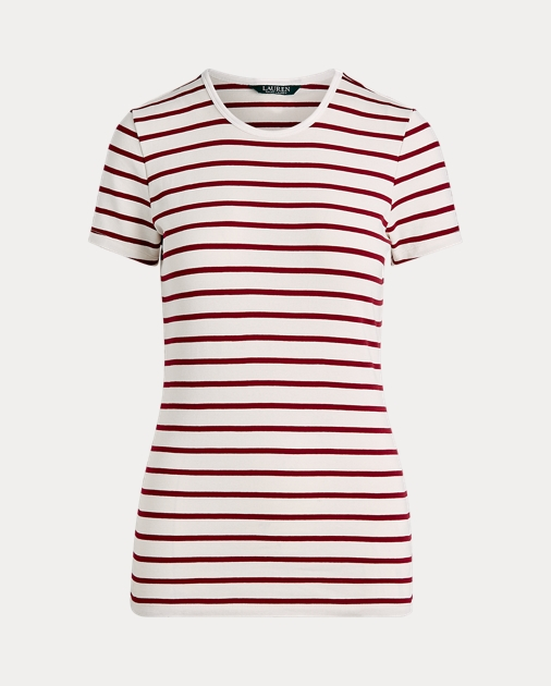 Polo RalphLauren Striped Stretch Cotton Tee