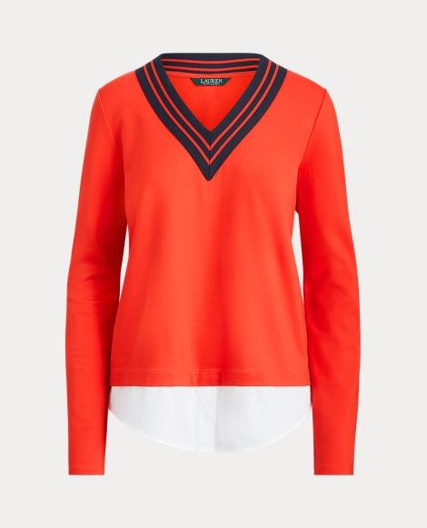 Layered Cricket Sweater