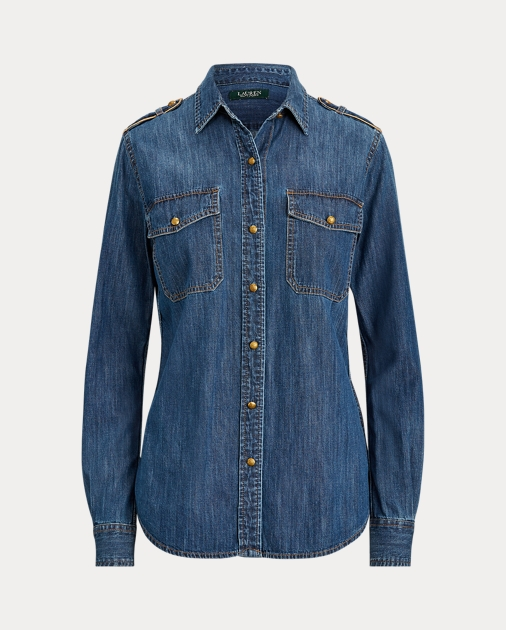 Polo RalphLauren Denim Button-Down Shirt