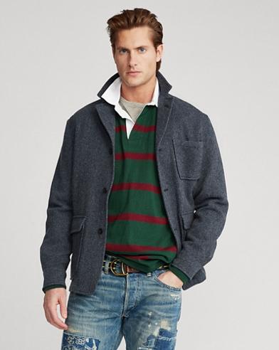Herringbone Tweed Sport Coat