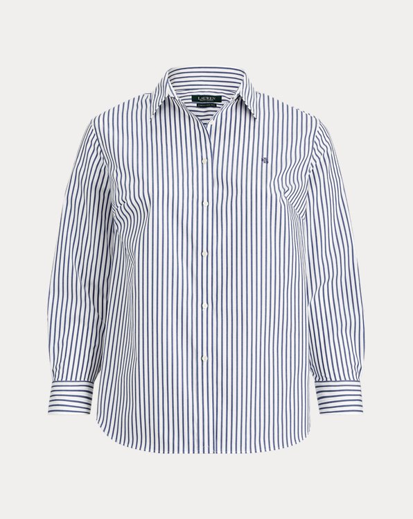 No-Iron Striped Shirt