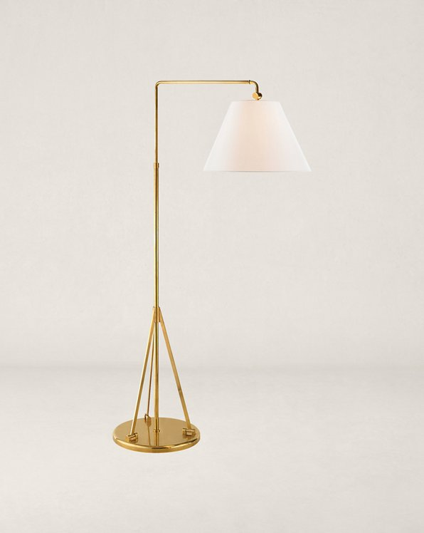 Brompton Swing-Arm Floor Lamp