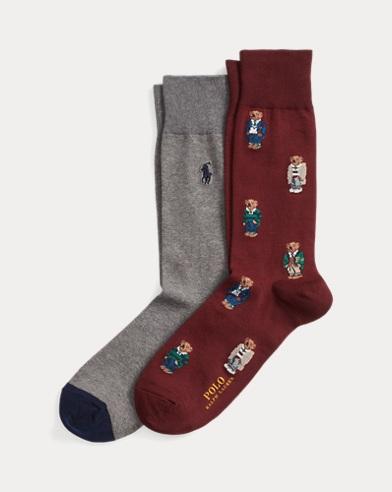 Lot de 2paires de chaussettes habillées Polo Bear