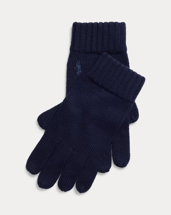Signature Pony Wool Gloves