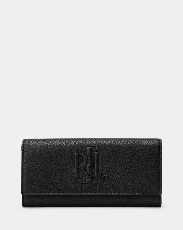 Pebbled Leather Medium Wallet