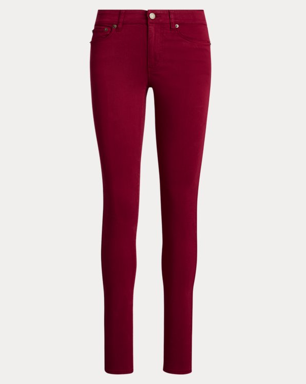 Pantalon skinny Premier en satinette