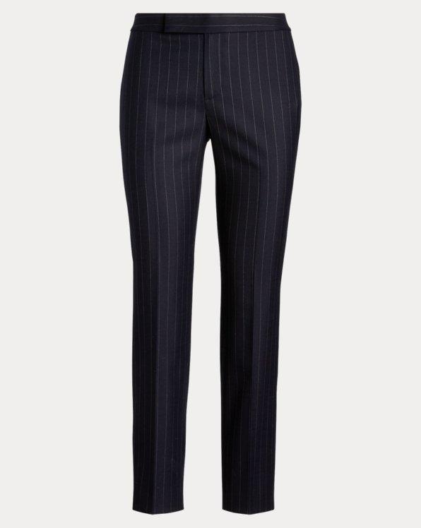 Wool-Blend Skinny Trouser