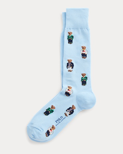 Signature Polo Bear Socks