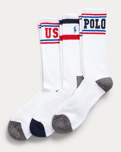Americana Crew Sock 3-Pack