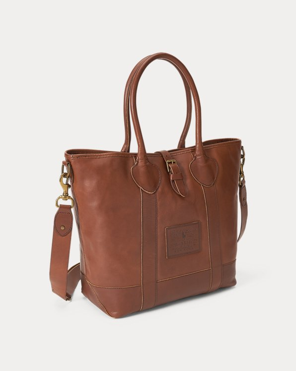 Heritage Tumbled Leather Tote