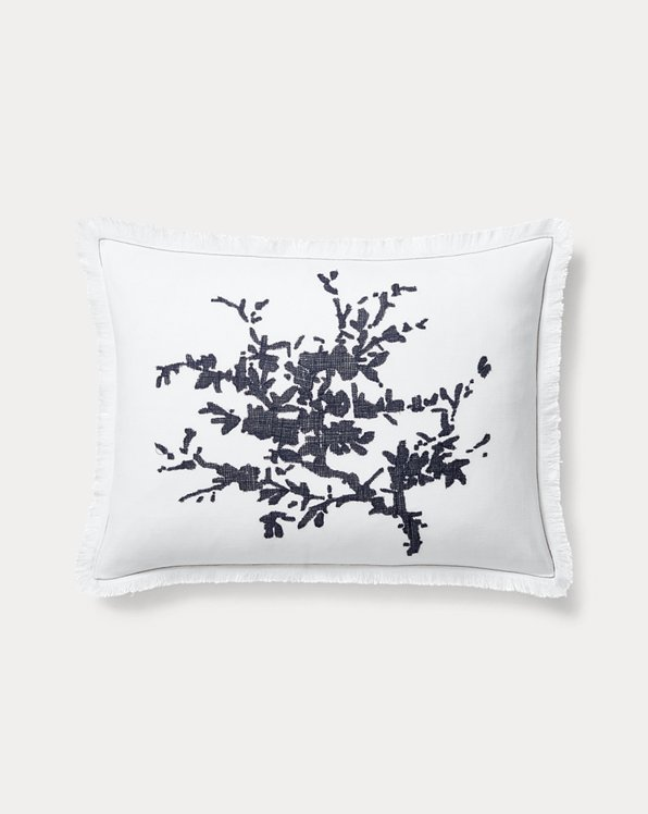 Eva Silhouette Throw Pillow