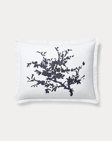 Eva Silhouette Throw Pillow