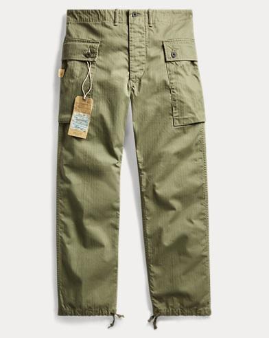Herringbone Cargo Pant