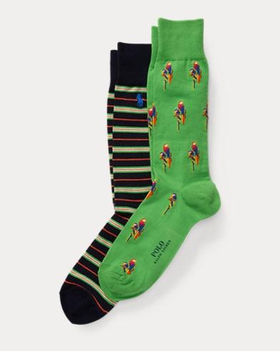 Parrot Sock 2-Pack
