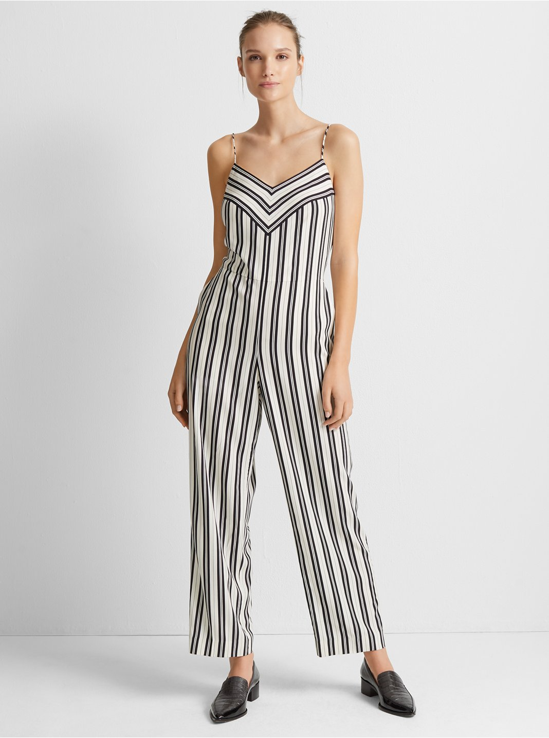 Bar Stripe Jumpsuit