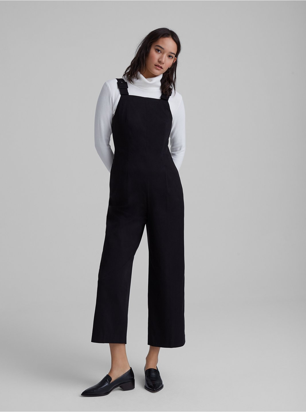 Self-Buckle Jumpsuit