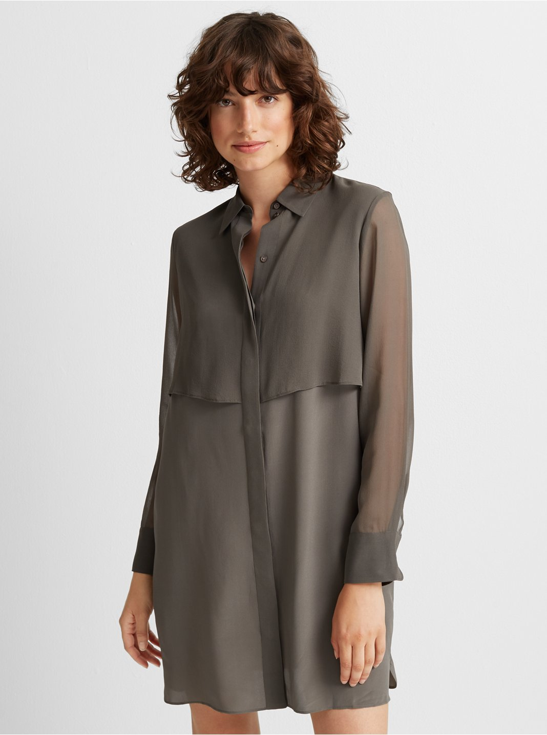 Bruksyde Silk Dress