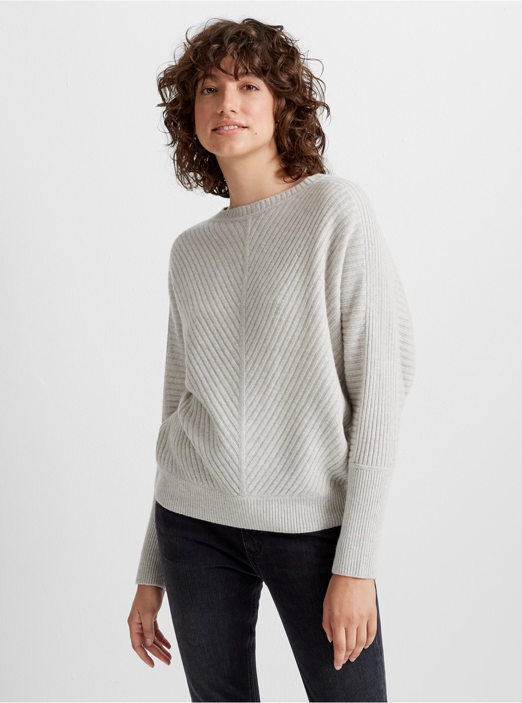Multi-Ribbed Cashmere Sweater