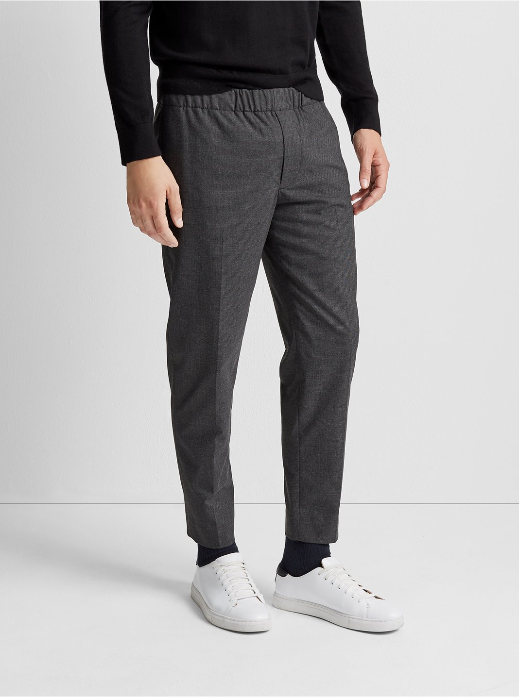 Elasticated Houndstooth Pant