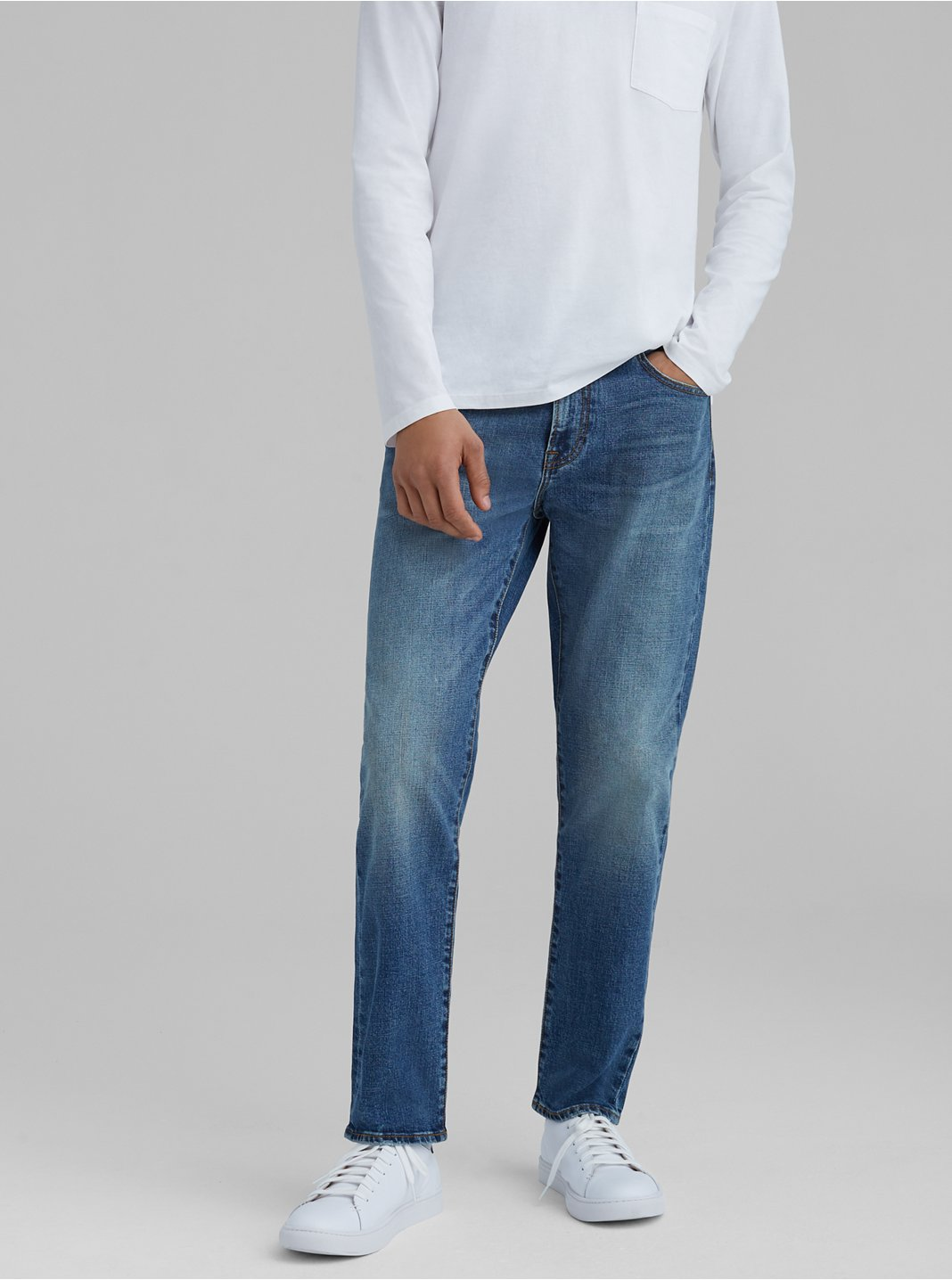 Slim Straight Denim