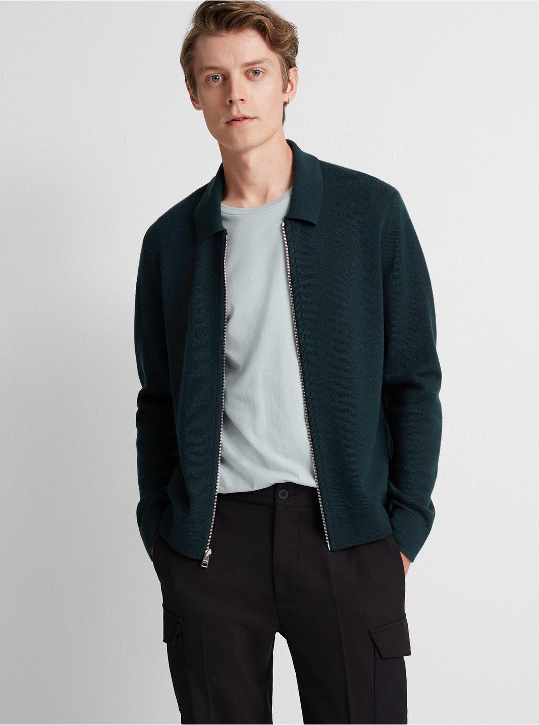 Milano Full-Zip Merino Jacket