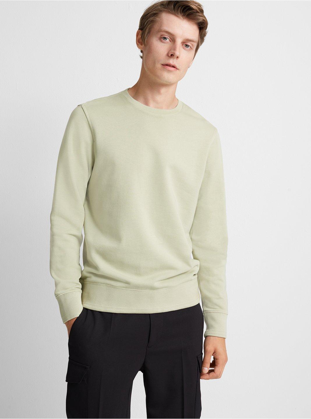 Ottoman Trim Sweatshirt