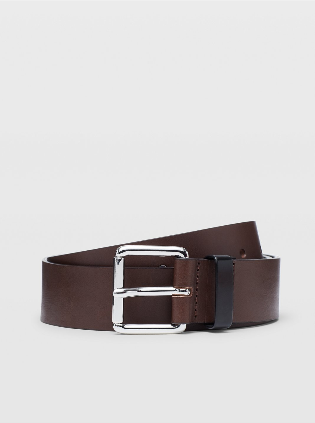 Double-Face Leather Belt