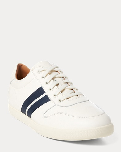 Camilo Leather Trainer