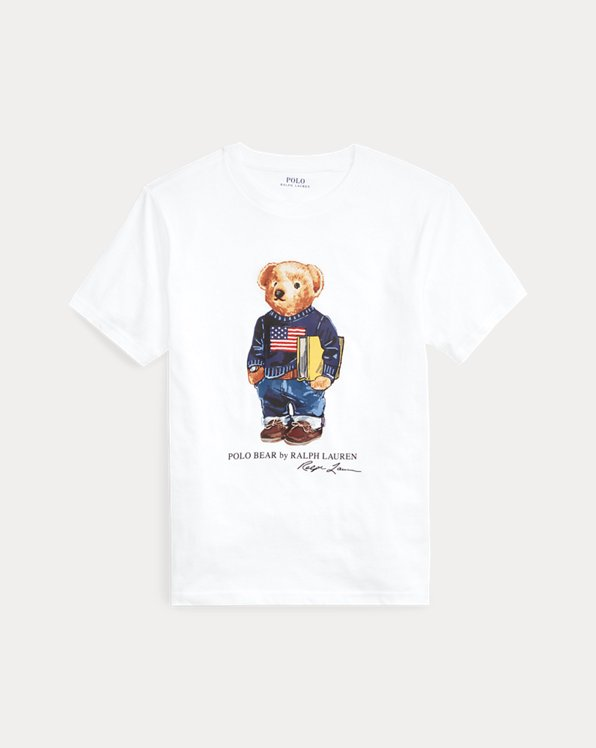 Polo Bear Literacy Tee
