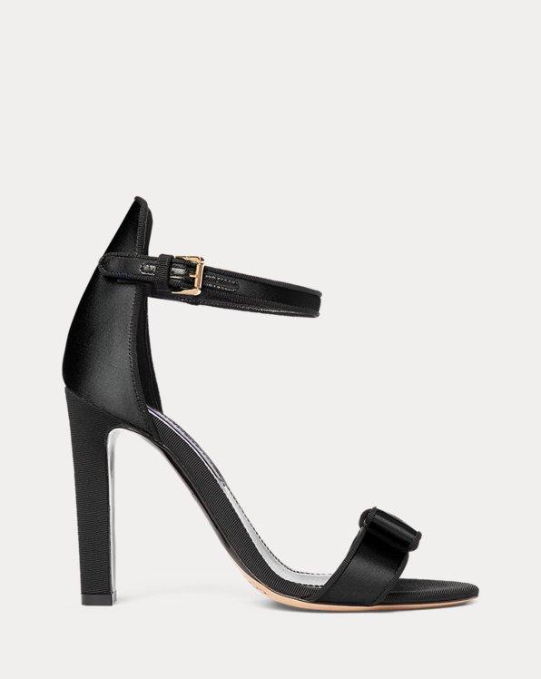 Daylen Bow Satin Sandal