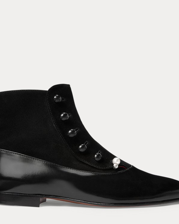 Caia Buttoned Bootie