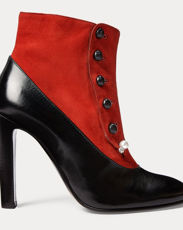 Marykate Heeled Buttoned Boot