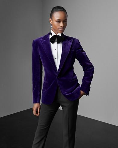 Fern Cotton Velvet Jacket