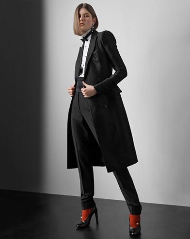Cyrene Jacquard Coat Dress
