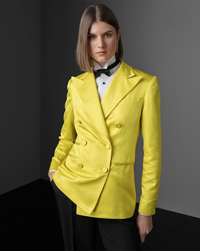 Buffy Silk Tuxedo Jacket
