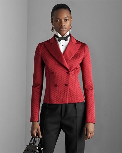 Rafaella Quilted Silk Jacket