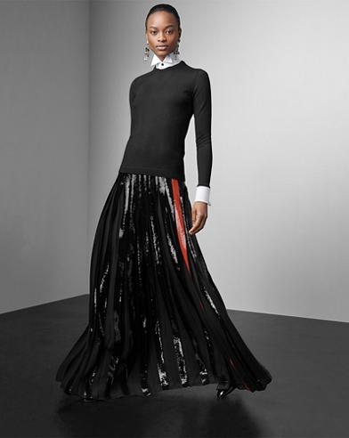 Alstin Sequined Skirt