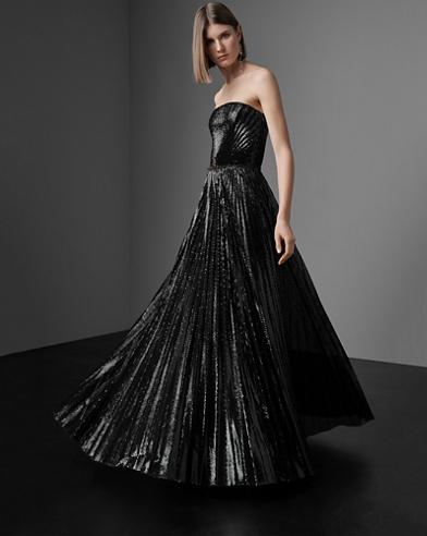 Jazmine Sequined Evening Dress