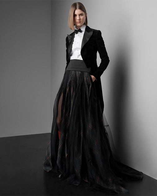 Collection Apparel Arlington Organza-Tulle Skirt 1